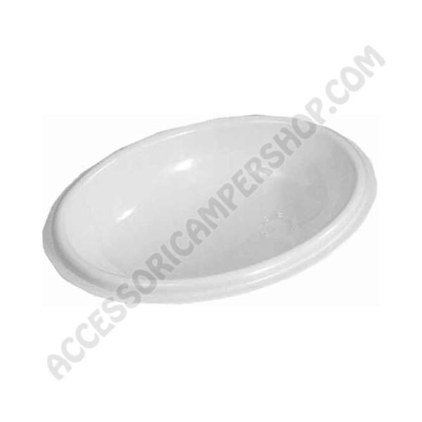 Lavandino ovale per bagno per camper caravan e barca - Lavandino bagno camper ...