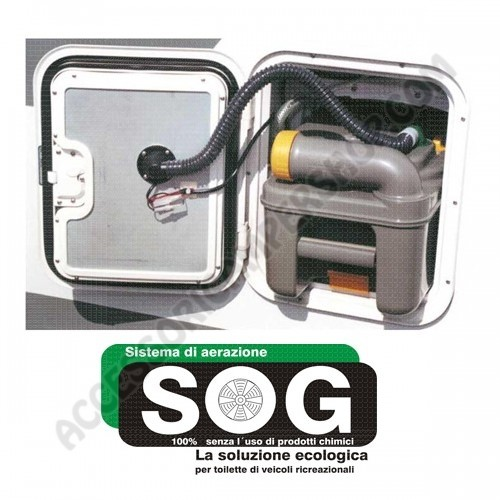 Schema Elettrico Wc Thetford : Sog sistema di ventilazione per cassette wc kit