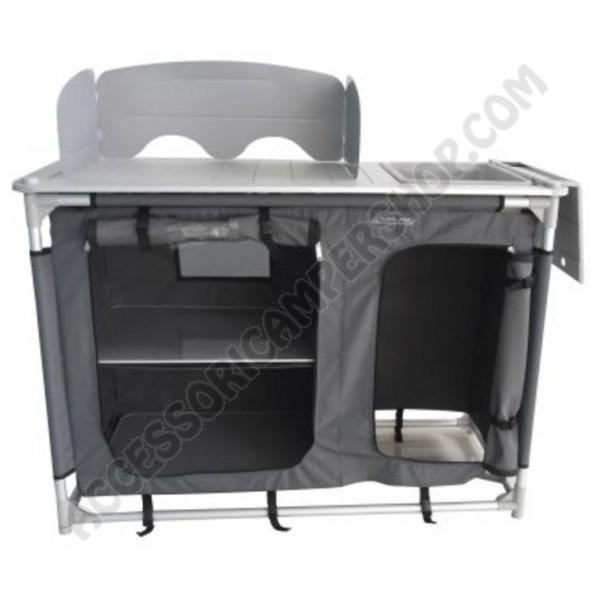 Mobile cucina porta fornello con lavello da campeggio for Mobile porta lavello cucina