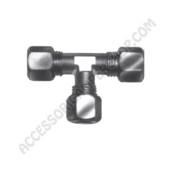 Raccordo gas in acciaio a t for Raccordo in acciaio verticale