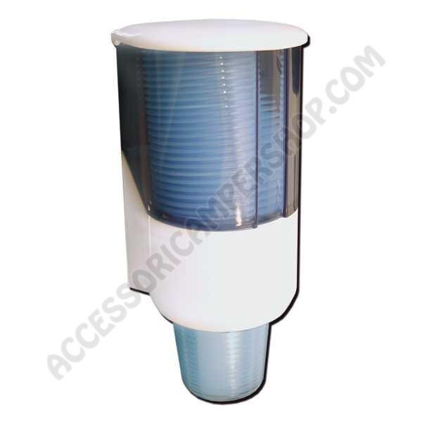 Dsp558 dispenser porta bicchieri campeggio camper caravan - Porta bicchieri ...
