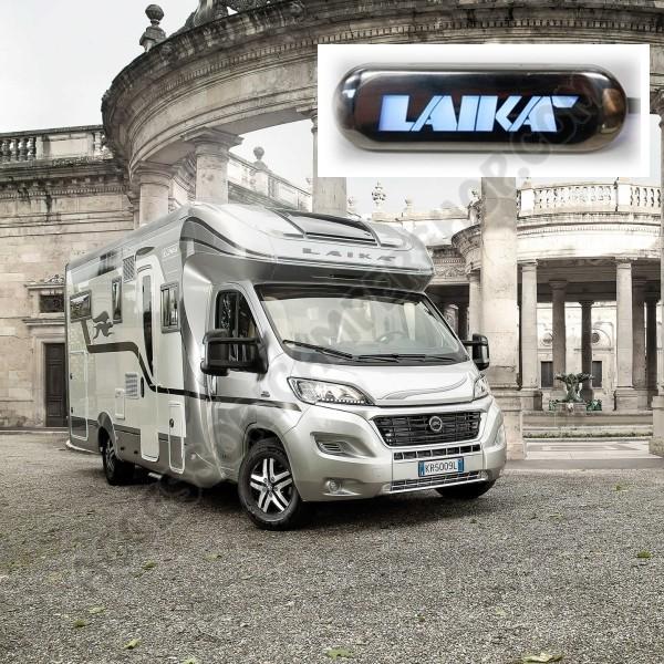 Luce di cortesia a led logo laika 0 2w blu per camper for Laika camper