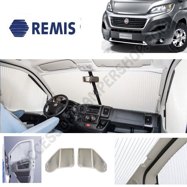 kit oscurante interno remifront 4 per fiat ducato x290. Black Bedroom Furniture Sets. Home Design Ideas