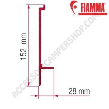 ADAPTER T OPTIONAL PER TENDALINI FIAMMA F45 + F70 ADATTATORE STAFFA PER CAMPER E CARAVAN
