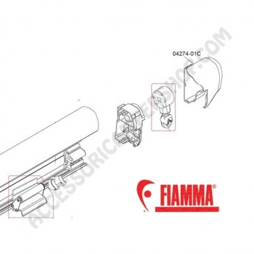 04274-01C KIT CUFFIA DX F45I POLAR PER F45 i 250-400 PER CAMPER E CARAVAN