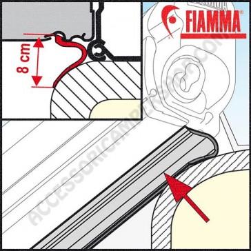 GUARNIZIONE KIT RAIN GUARD LOWER 550 FIAMMA PER FIAMMASTORE PER TENDALINI FIAMMA F45S F45L E F70  L=550 CM