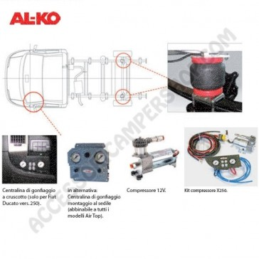 KIT COMPRESSORE AIR TOP