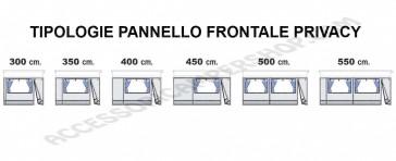 PANNELLI AGGIUNTIVI PARETE FRONTALE  F65 - F65 S FIAMMA. SCEGLI MODELLO