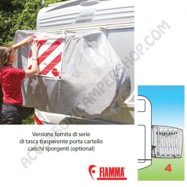 COPRIBICI BIKE COVER S 4 BICI FIAMMA CAMPER CARAVAN