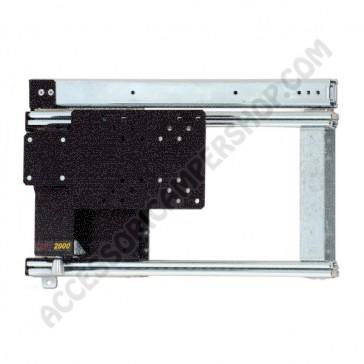 PORTA TELEVISIONE LCD MANUALE LATERALE DESTRA PER CAMPER E CARAVAN