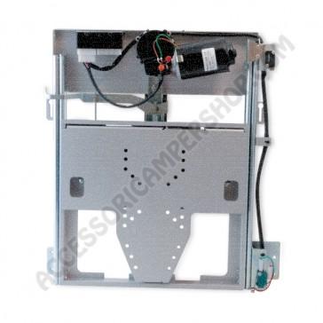 SUPPORTO LCD ELETTRICO USCITA DA SOPRA PER CAMPER E CARAVAN