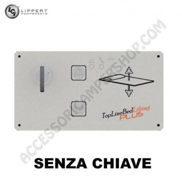 PANNELLO DI CONTROLLO SMART BED CON CENTRALINA.ELETTRONICA SENZA CHIAVE PER VARIATORE ELETTRONICO  ALTEZZA LETTO LIPPERT