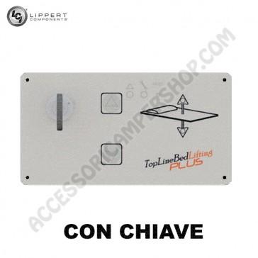 PANNELLO DI CONTROLLO SMART BED CON CENTRALINA.ELETTRONICA CON CHIAVE PER VARIATORE ELETTRONICO  ALTEZZA LETTO LIPPERT PER CAMPER CARAVAN