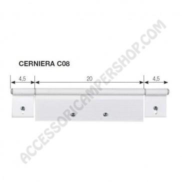 CERNIERA C08 PER PORTA 285X61 MM.