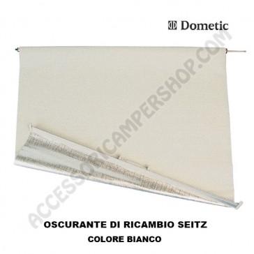OSCURANTE DI RICAMBIO SEITZ  PER FINESTRA S3, S4 - COLORE BIANCO PER CAMPER E CARAVAN