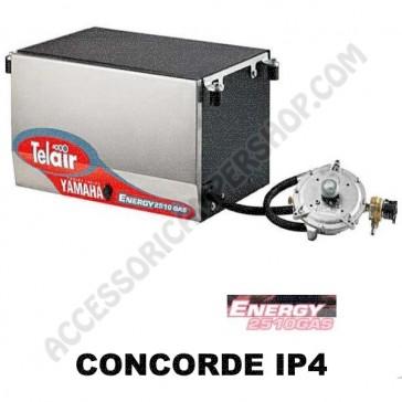 GENERATORE TELAIR ENERGY  2510G YAMAHA CONCORDE IP4 A GAS - 2.5 KW - CON PANNELLO DI COMANDO MANUALE