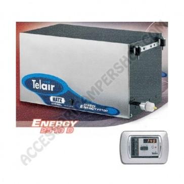 GENERATORE TELAIR ENERGY 2510D HATZ DIESEL - 2.2 KW CON PANNELLO DI COMANDO AUTOMATICO ASP