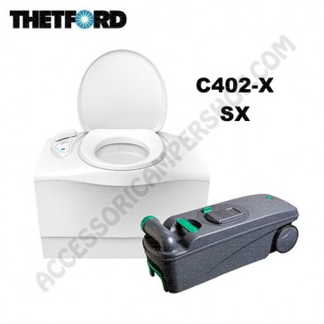 WC TOILETTE A CASSETTA THETFORD C402-X SX PER CAMPER E CARAVAN