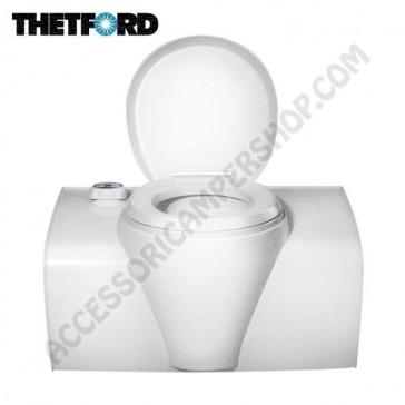 WC TOILETTE A CASSETTA THETFORD C502-X CON SERBATOIO SCIACQUONE 16,5LT PER CAMPER E CARAVAN