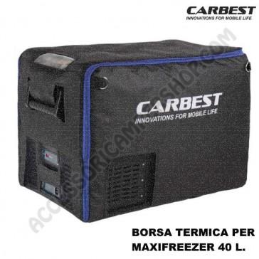 BORSA TERMICA PER FRIGO-FREEZER PORTATILE CARBEST MAXIFREZZER 40L A COMPRESSORE