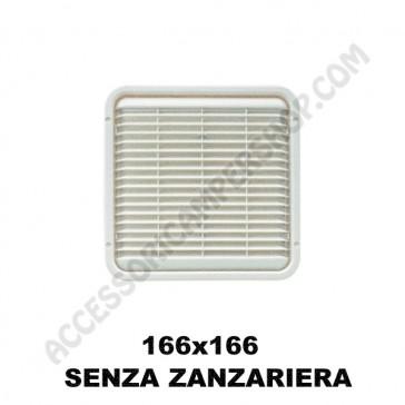AREATORE DA APPOGGIO 166X166MM. SENZA ZANZARIERA