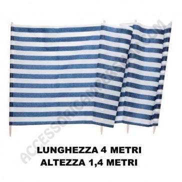 PARAVENTO DUFFI M. 4x1,4 PER CAMPEGGIO SPIAGGIA GIARDINO