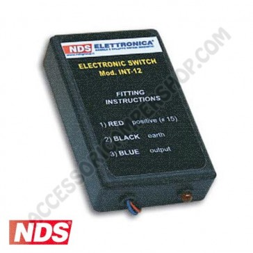 INTERRUTTORE ELETTRONICO 12V ELECTRONIC SWITCH NDS