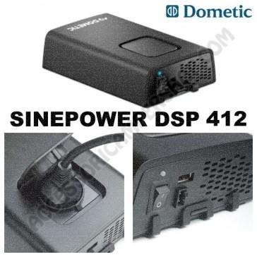INVERTER AD SINUSOIDALE PURA 350 W 12V - 230 V DOMETIC SINEPOWER DSP 412 PER CAMPER CARAVAN BARCA