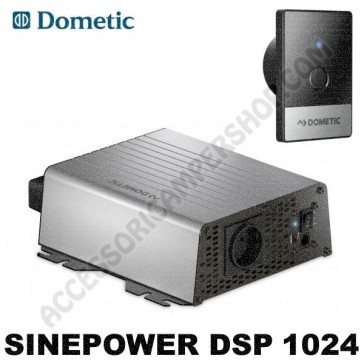 INVERTER AD SINUSOIDALE PURA 1000 W 24V - 230 V DOMETIC SINEPOWER DSP 1024 PER CAMPER CARAVAN BARCA