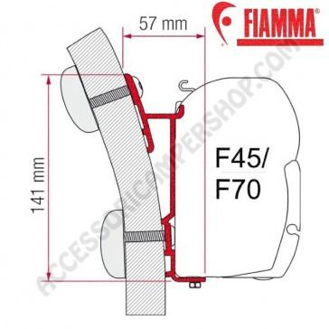 ADAPTER HYMER S-E KLASSE 450 OPTIONAL PER TENDALINI FIAMMA F45 + F70 ADATTATORE STAFFA DA 450 CM PER CAMPER