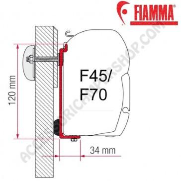KIT CHALLENGER CHAUSSON OPTIONAL PER TENDALINI FIAMMA F45 + F70 ADATTATORE STAFFA PER CAMPER