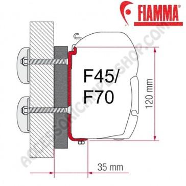 KIT DETHLEFFS GLOBEBUS OPTIONAL PER TENDALINI FIAMMA F45 + F70 ADATTATORE STAFFA PER CAMPER