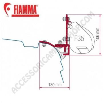 98655-948 KIT MULTIRAIL REIMO VW T5 ADATTATORI STAFFE PER TENDALINO FIAMMA F35 RICAMBIO ORIGINALE FIAMMA