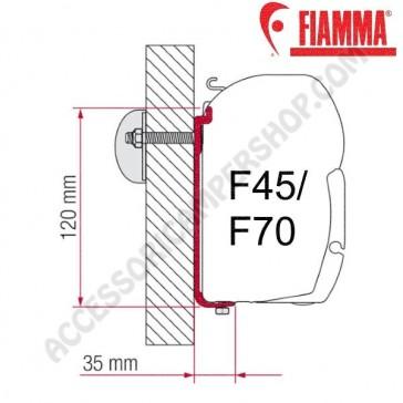 KIT AS 110  STAFFA OPTIONAL PER TENDALINI FIAMMA F45 + F70 ADATTATORI