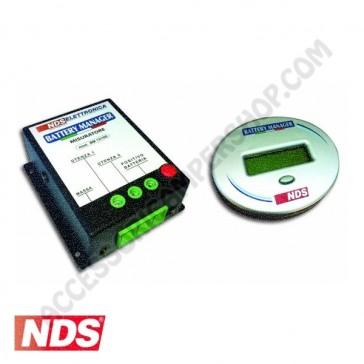 SORVEGLIA BATTERIA BATTERY MANAGER BM12-100 NDS CON GPS