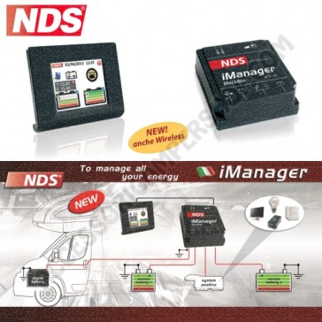 IMANAGER WIRELESS NDS PER GESTIRE TUTTE LE TUE ENERGIE A BORDO
