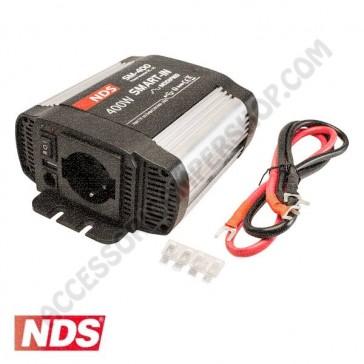 INVERTER NDS SMART-IN SM-400 400 W 12V A ONDA MODIFICATA CON PRESA USB PER CAMPER CARAVAN BARCA