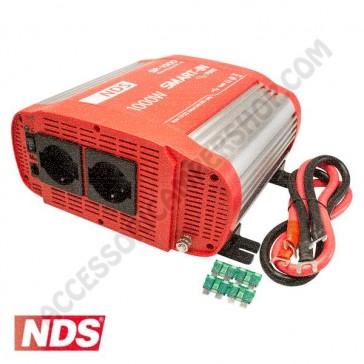 INVERTER NDS SMART-IN SP-1000 1000 W 12V A ONDA SINUSOIDALE PURA CON PRESA USB