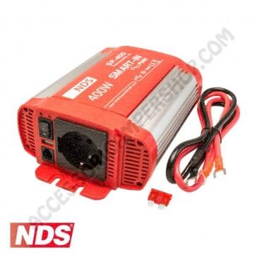 INVERTER NDS SMART-IN SP-400 400 W 12V A ONDA SINUSOIDALE PURA CON PRESA USB PER CAMPER CARAVAN BARCA