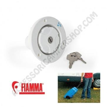 WATER CAP WHITE  FIAMMA TAPPO CON CHIAVE PER ROLL - TANK RICAMBIO ORIGINALE FIAMMA CAMPER MOTORHOME CARAVAN