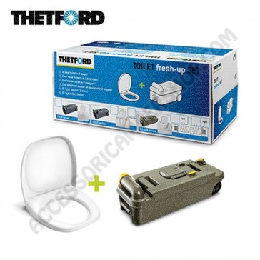 KIT TOILET FRESH-UP SET C2-3-4 PER CAMPER E CARAVAN