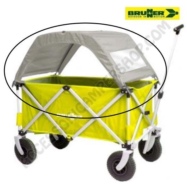 Novit 2018 tettuccio cargo roof per carretto carrello for Carrello porta ombrellone e sdraio