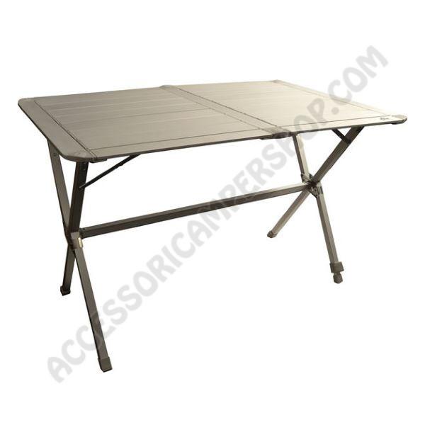 Tavolo in alluminio pieghevole per quattro persone da for Tavolo x 20 persone