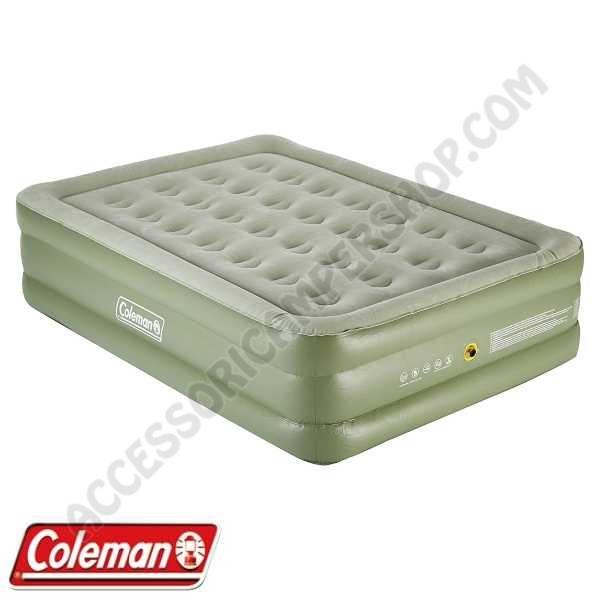 Materassino 2 Piazze Gonfiabile.Materasso Maxi Comfort Bed Raised King Coleman Floccato