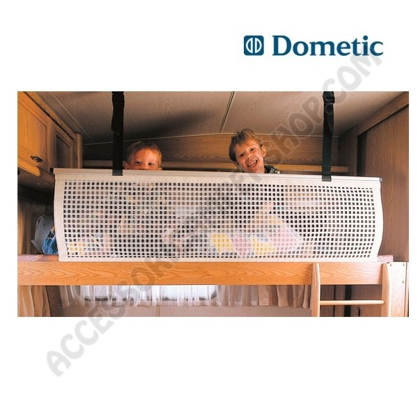 Rete di protezione bambini dometic con telaio per letto for Protezione stufa per bambini