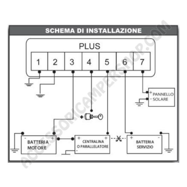 Schema Elettrico Nds Power Service : Power service plus nds carica batteria elettronico due