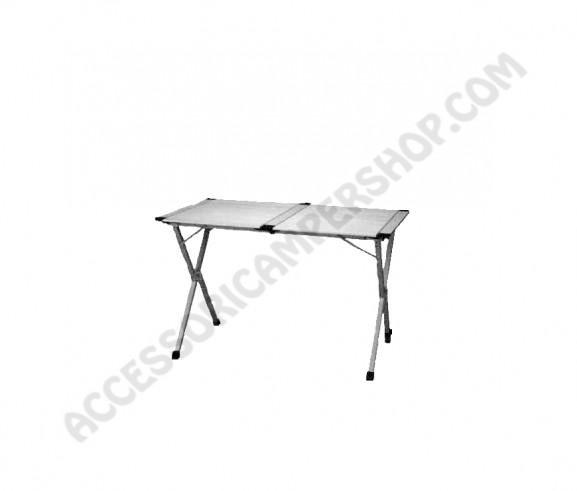 Tavolo in alluminio pieghevole per quattro persone da - Tavolo 4 persone ...