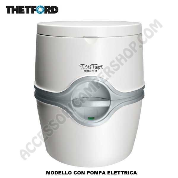 Toilette wc portatile thetford porta potti excellence - Carrello porta bombola ossigeno portatile ...