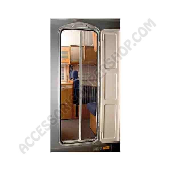 Zanzariera per porta esterna remicare 2 per camper e caravan - Zanzariera porta ...