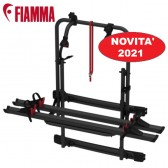 NOVITÀ 2021 PORTA-BICI FIAMMA PER FURGONATO CARRY-BIKE 200 DJ SPRINTER / VW CRAFTER - DOPO 2006 DEEP BLACK